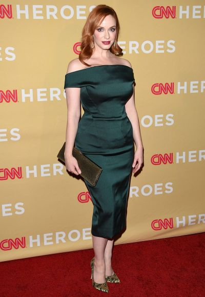Christina Hendricks attends the 2014 CNN Heroes: An All-Star Tribute at the American Museum of Natural History on ...
