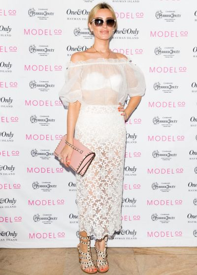 Georgia Gorman attends the ModelCo Women of Influence event at One&Only Hayman Island on November 25, 2014 in Hayman ...