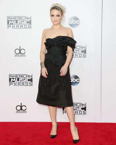 Dianna Agron attends the 42nd Annual American Music Awards at the Nokia Theatre L.A. Live on November 23, 2014 in Los ...