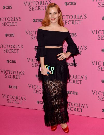 Charlotte Dellal attends the pink carpet of the 2014 Victoria's Secret Fashion Show on December 2, 2014 in London, England.