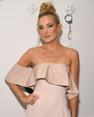 Kate Hudson attends Chrome Hearts Celebrates The Miami Project During Art Basel With Zoe Kravitz at Miami Design ...
