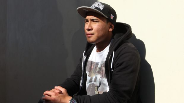 Jailed: Promising rugby league player Jamil Hopoate will spend at least a year behind bars.