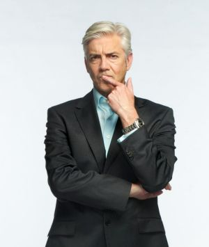 Shaun Micallef: The comedian discusses his latest book, <i>The President's Desk</i>, on December 15.
