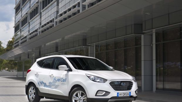 Hyundai Australia has imported the country's first permanent fuel cell electric car and unveiled proposals to build a ...