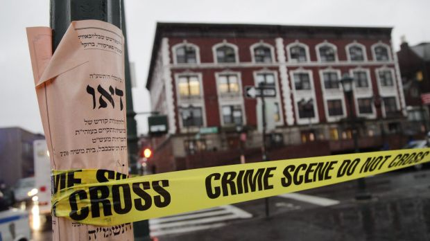The Chabad headquarters in Brooklyn. The knife attack and subsequent fatal shooting took place in a basement room of the ...