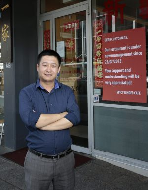 New owner: Richard Hou says he has lost customers.
