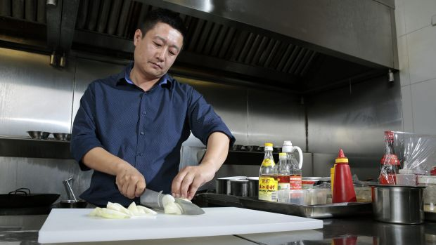 New management: Spicy Ginger Cafe owner Richard Hou.