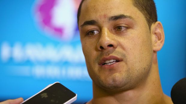 Jarryd Hayne: Relaxed about visa issues.