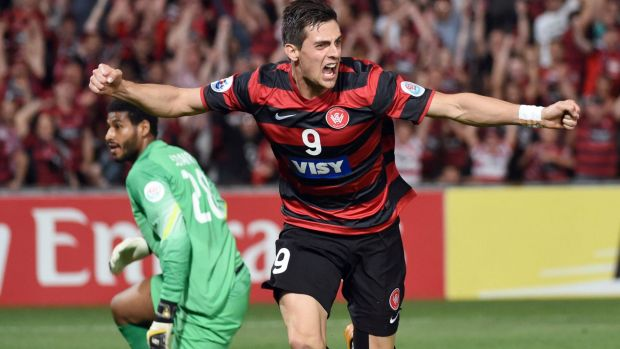 Ready to go: Tomi Juric says the Wanderers are ready to take on the world's best club teams.