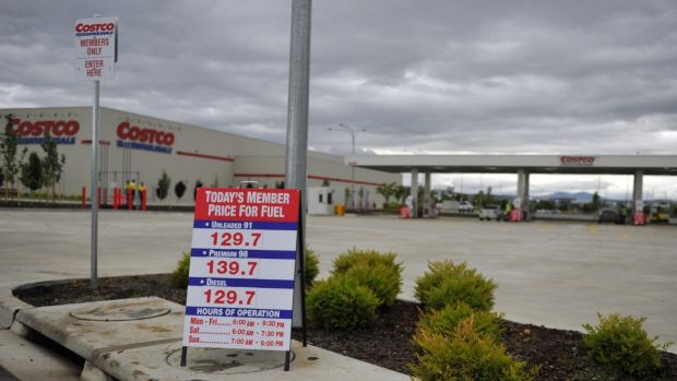 Costco fuel station opens in Canberra