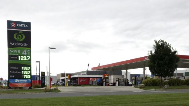 Woolworths quickly matched Costco's fuel price