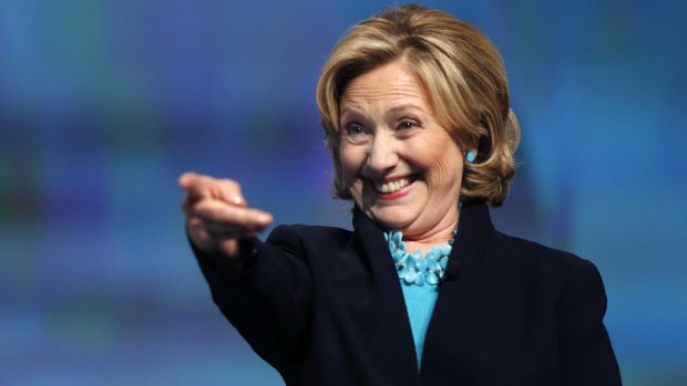 Appeal across generations: Youth favour former secretary of state Hillary Clinton as a  candidate for president in 2016.