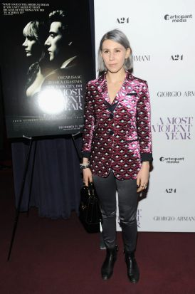 Zosia Mamet on the red carpet.