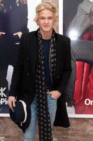 Cody Simpson at the OnePiece boutique opening in the US.