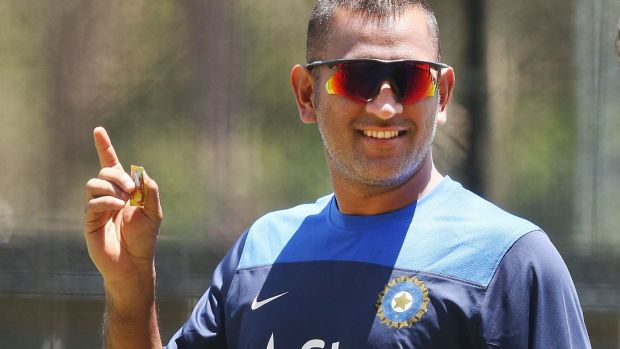 Special orders: Indian captain M.S. Dhoni.
