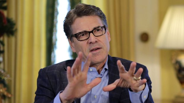 Failed in 2012: Texas Governor Rick Perry believes voters could give him a second chance.