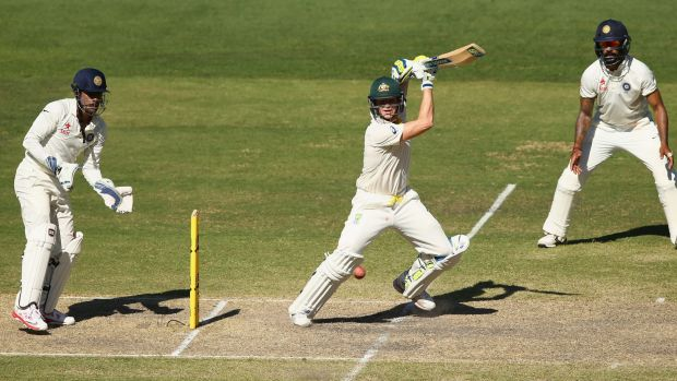 Steve Smith notches up another 50.