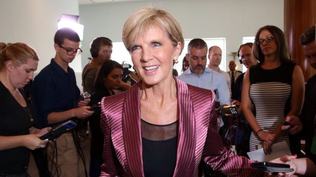 Foreign Minister Julie Bishop believes it is time for Pacific leaders to chart their own course.