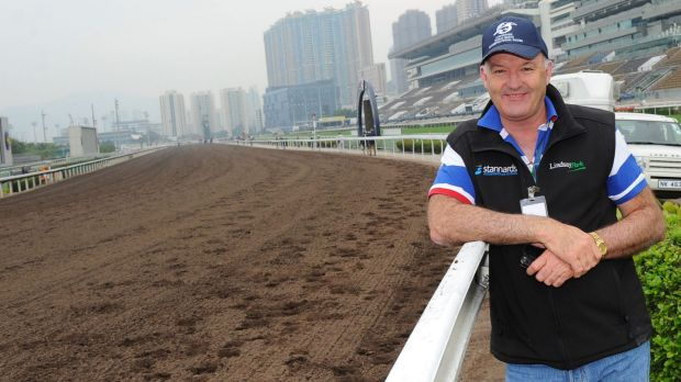 Rails run: David Hayes spent a decade in Hong Kong and says the racing is unique.