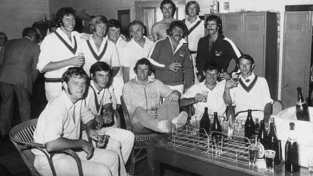 Alcohol and team sport have long since been bound together.