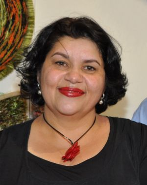 Co-chair of the National Congress of Australia's First Peoples, Kirstie Parker.