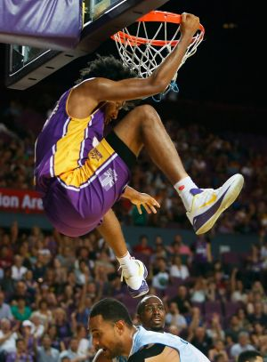 Hang time: Josh Childress is a cut above in the NBL.