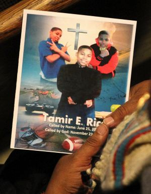 A program from the funeral for Tamir Rice in Cleveland earlier this month.