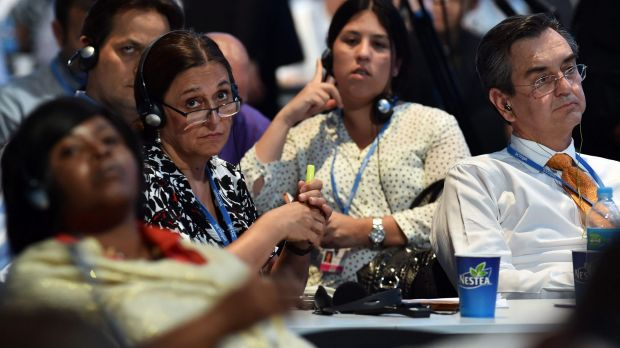 Stalled: Negotiations in Lima towards at the 20th session of the Conference of the Parties on Climate Change have not ...