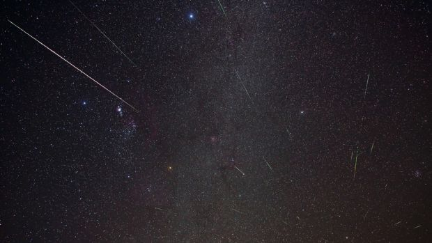 The Geminids meteor shower can create up to 100 shooting stars an hour.