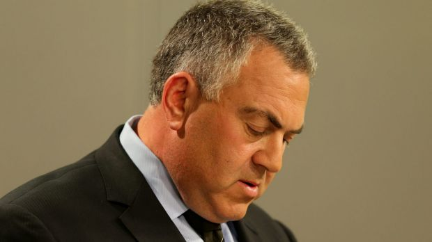 Tough times ahead: Joe Hockey plans a national conversation with Australians in 2015.