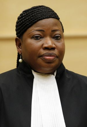 Frustrated: Fatou Bensouda, chief prosecutor of the International Criminal Court.