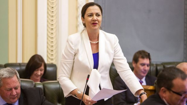 """The snap election is hopped to catch Annastacia Palaszczuk's party """"on the hop""""."""