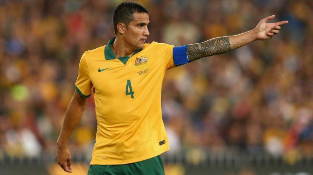 Sharp-shooter: Tim Cahill could play at Russia 2018.
