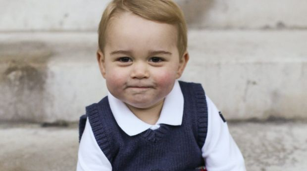Official portrait: The latest photographs of Prince George have generated a media frenzy.