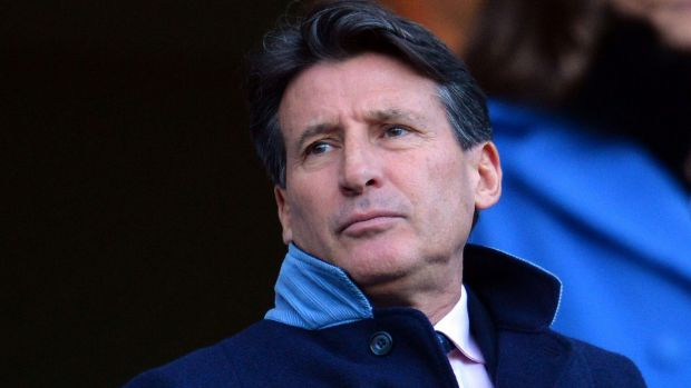 The head of the IAAF, Sebastian Coe.