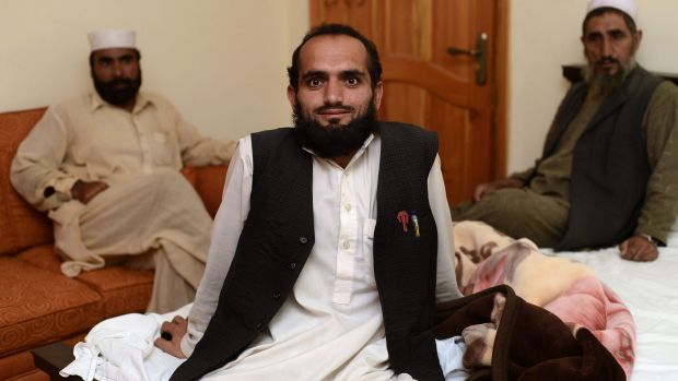 Pakistani man Kamil Shah, who was detained at the United States' jail in Bagram, Afghanistan, says he was beaten and ...