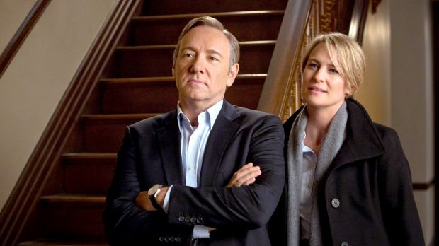 <i>House of Cards</i>: Research shows that the arrival of Netflix coincides with downturn in piracy.