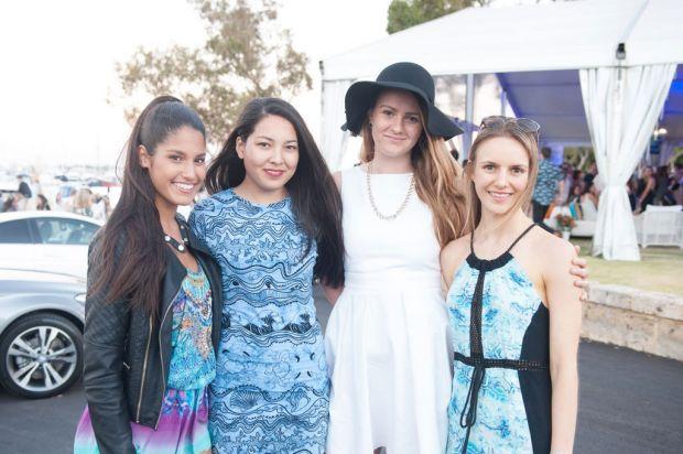 Marcella Kandiah, Noni Mills, Katherine Sparrow and Zeidri Van Der Walt.