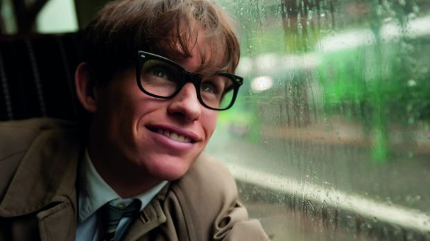 It takes years of training: Eddie Redmayne as Stephen Hawking in <i>The Theory of Everything</i>.