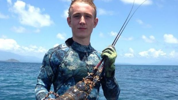 Mossman teenager Daniel Smith was spearfishing with friends on the Great Barrier Reef when he was attacked by a shark.