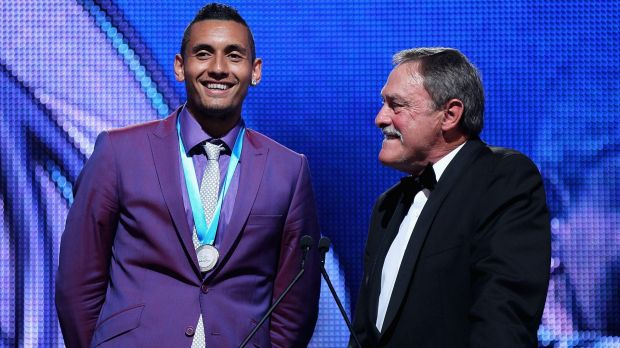 Newcombe medallist Nick Kyrgios will train in Canberra this week.