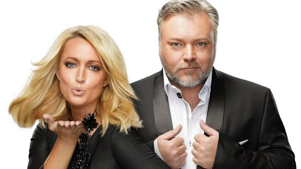 Denial ... Kyle Sandilands and Jackie Henderson say there will be no move back to 2DayFM.