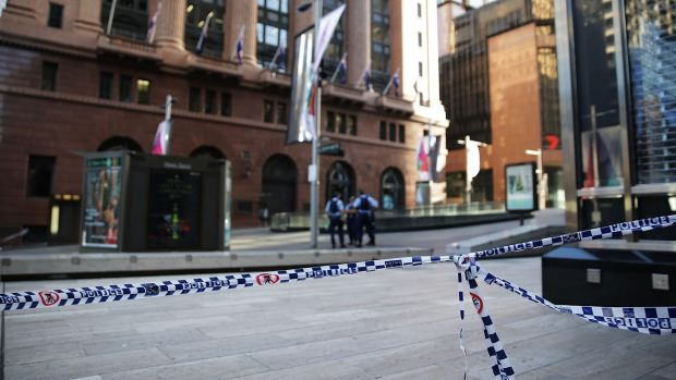 Barricaded: Martin Place.