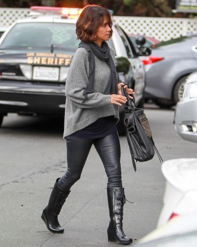 Halle Berry is seen in Beverly Hills on December 12, 2014 in Los Angeles, California.