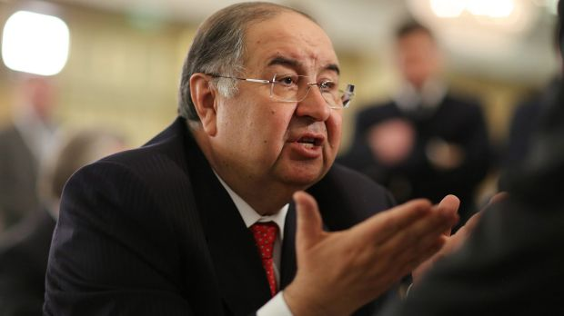 Alisher Usmanov has forked out millions to return the Nobel medal to James Watson.