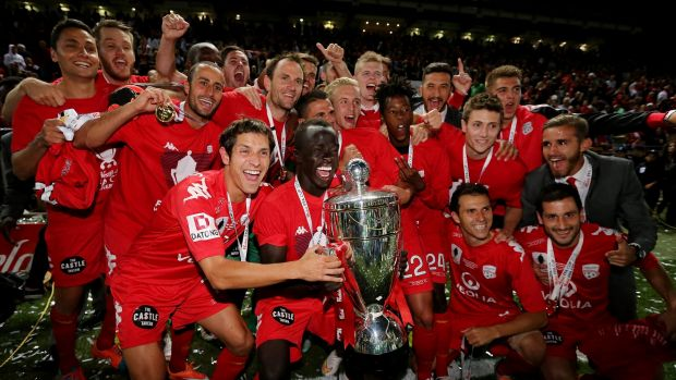 FFA Cup Champions: Adelaide United claimed a 1-0 win in front of their parochial crowd.