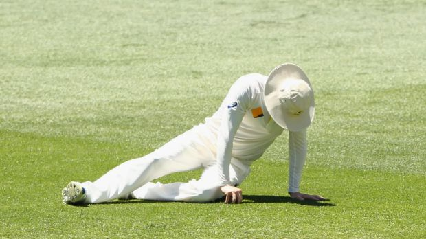 Clarke badly tore his hamstring on day five of the first Test.