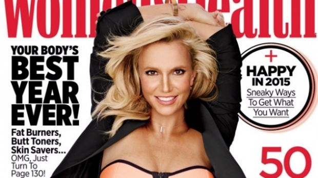Who is that woman?: Britney Spears on the cover of Women's Health.