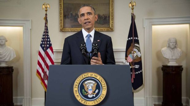 President Barack Obama announces the US will end its sanctions on Cuba after 50 years and will move to normalise ...