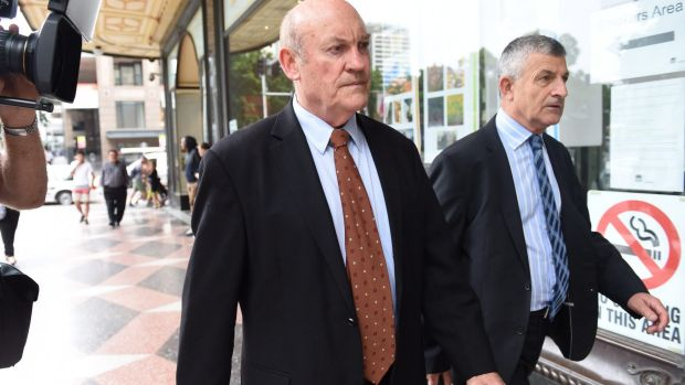 Former Labor minister Ian Macdonald  appeared in court on charges relating to the Doyles Creek mine deal.